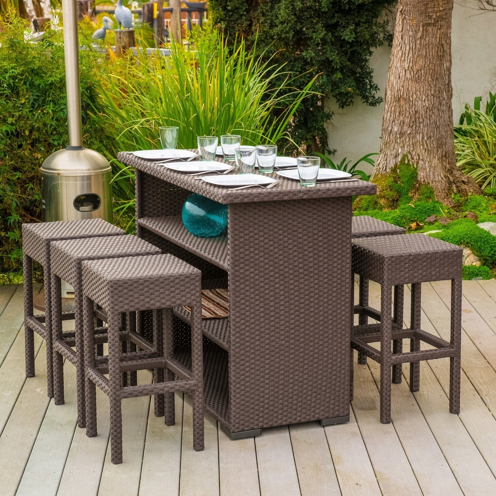 Furniture: Captivating Ebay Patio Furniture For Outdoor Furniture Regarding Current Ebay Patio Conversation Sets (View 8 of 20)