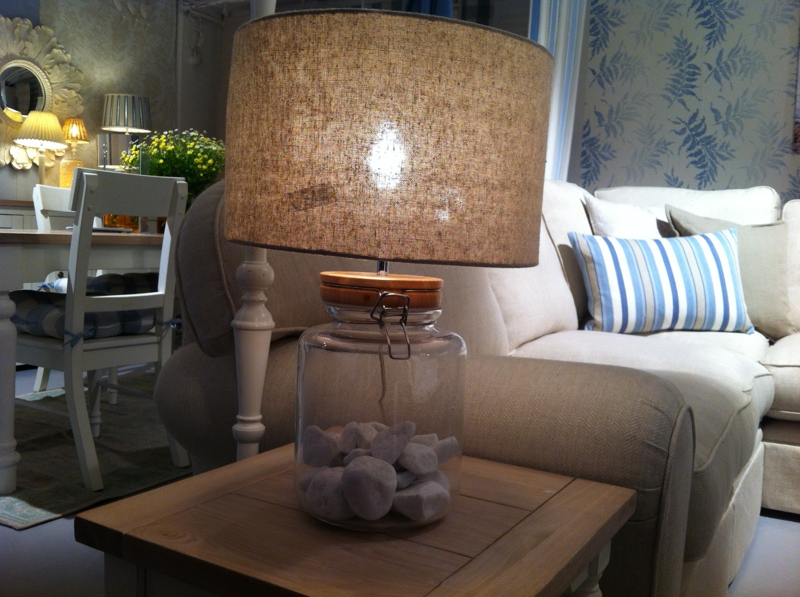Furniture : Lamp Modern End Table Design White Glass Lamps Wooden Within Recent Laura Ashley Table Lamps For Living Room (View 7 of 20)