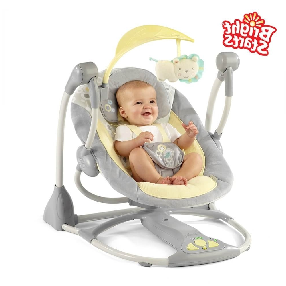 Furniture: Modern Gray Rocker Chair For Baby – Cool Baby Rocking Regarding Current Rocking Chairs For Babies (View 13 of 20)
