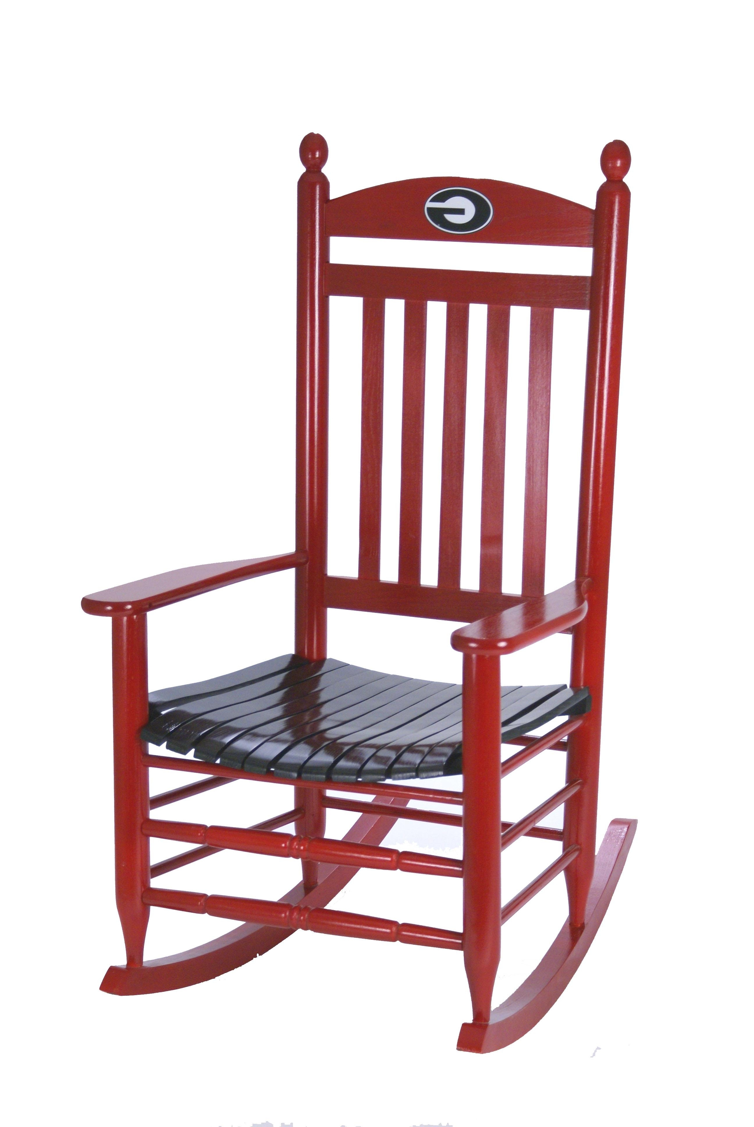 Georgia Bulldogs Rocking Chair (Gallery 13 of 20)