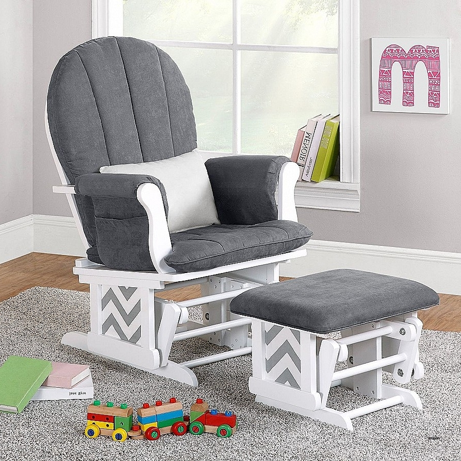 Glider Or Rocking Chair For Nursery Beautiful Gliders Baby Room With Famous Rocking Chairs For Baby Room (Gallery 5 of 20)
