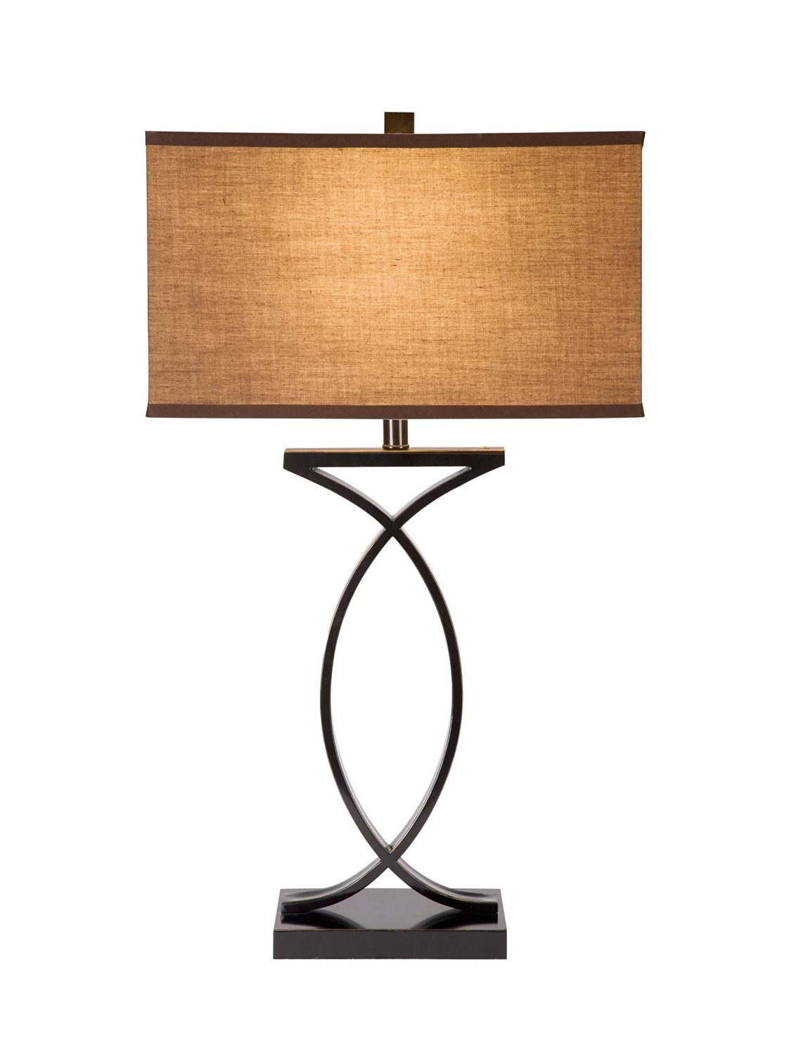 Gold Living Room Table Lamps With Most Current Home Design. Black Table Lamps: Cute Black With Gold Highlights (Gallery 9 of 20)