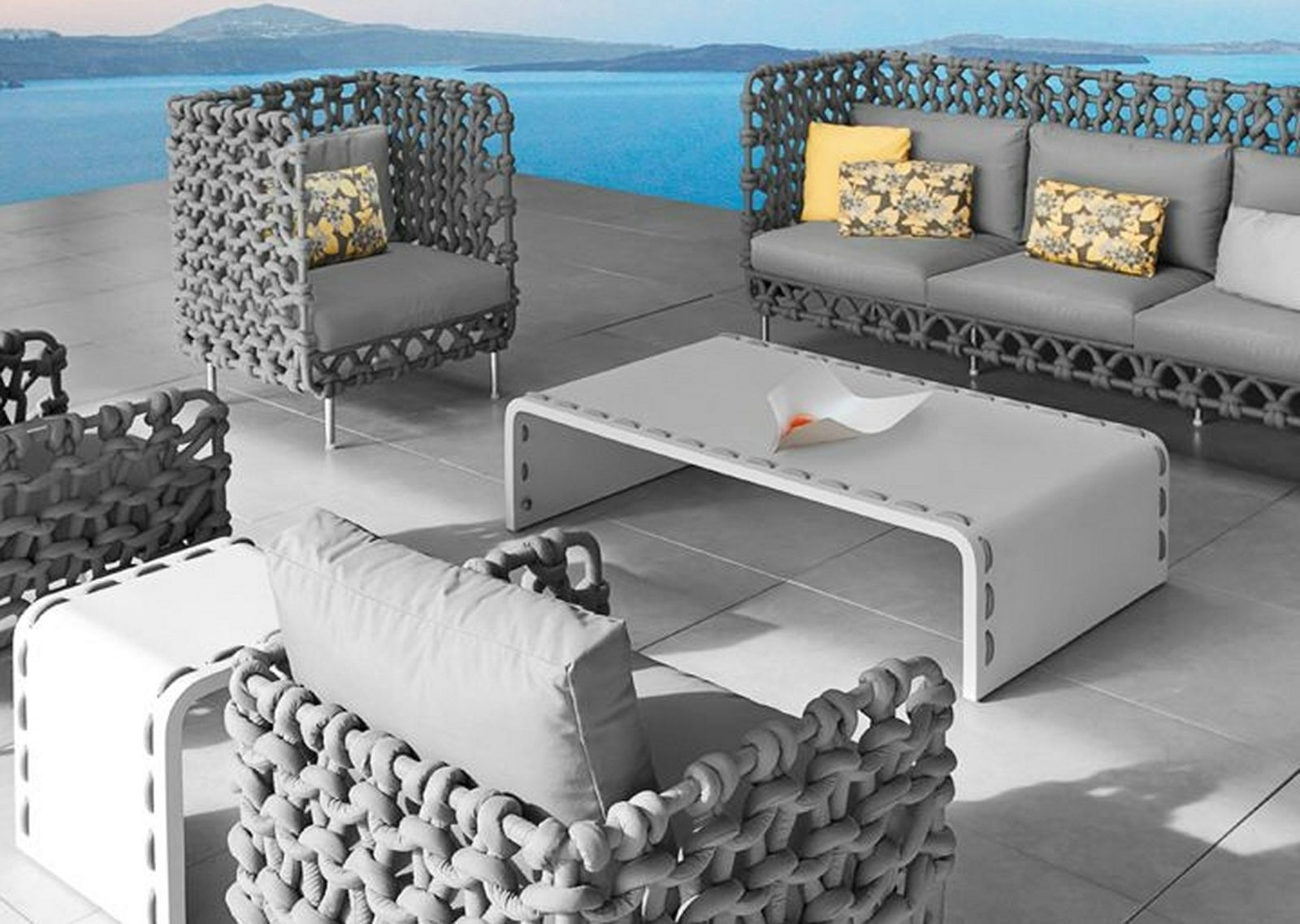 Gray Patio Conversation Sets For 2019 Popular Of Gray Patio Furniture Fashionable Grey Patio Furniture (Gallery 9 of 20)