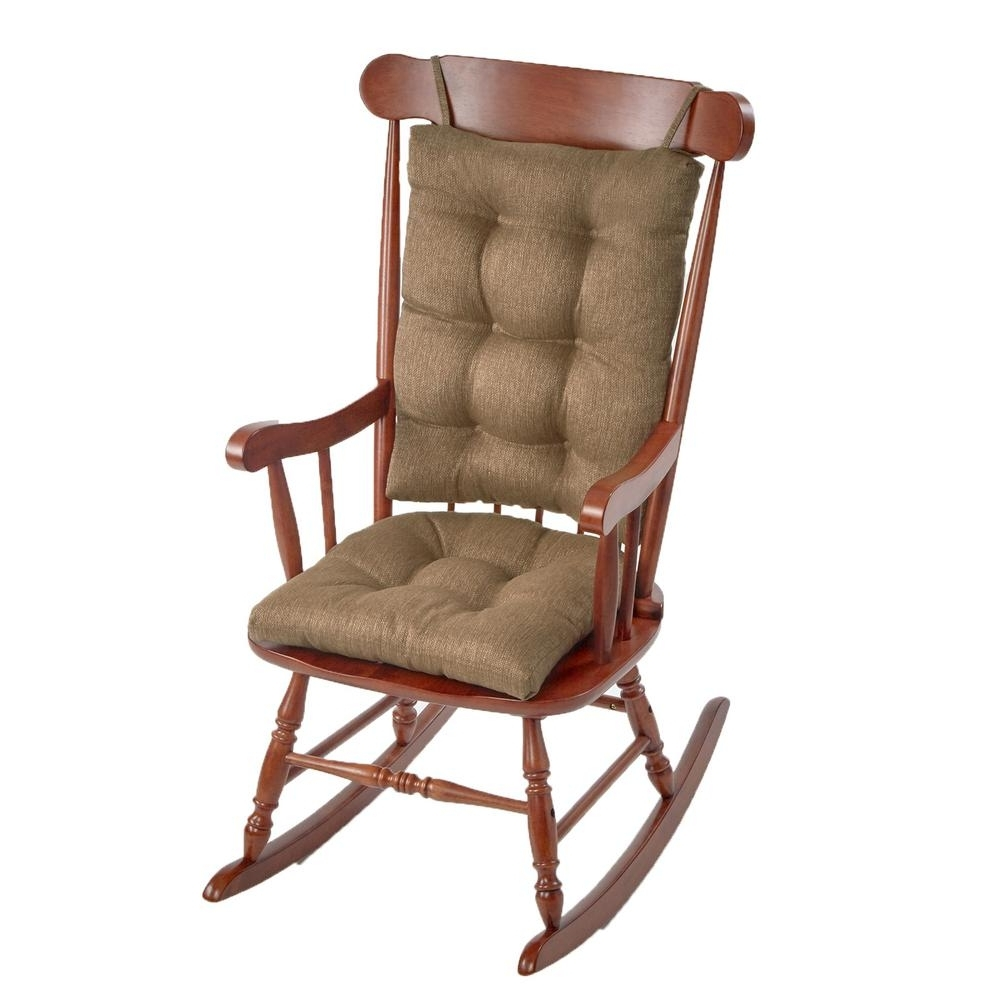Gripper Omega Gold Jumbo Rocking Chair Cushion Set 849307xl 01 – The In Well Known Xl Rocking Chairs (View 3 of 20)