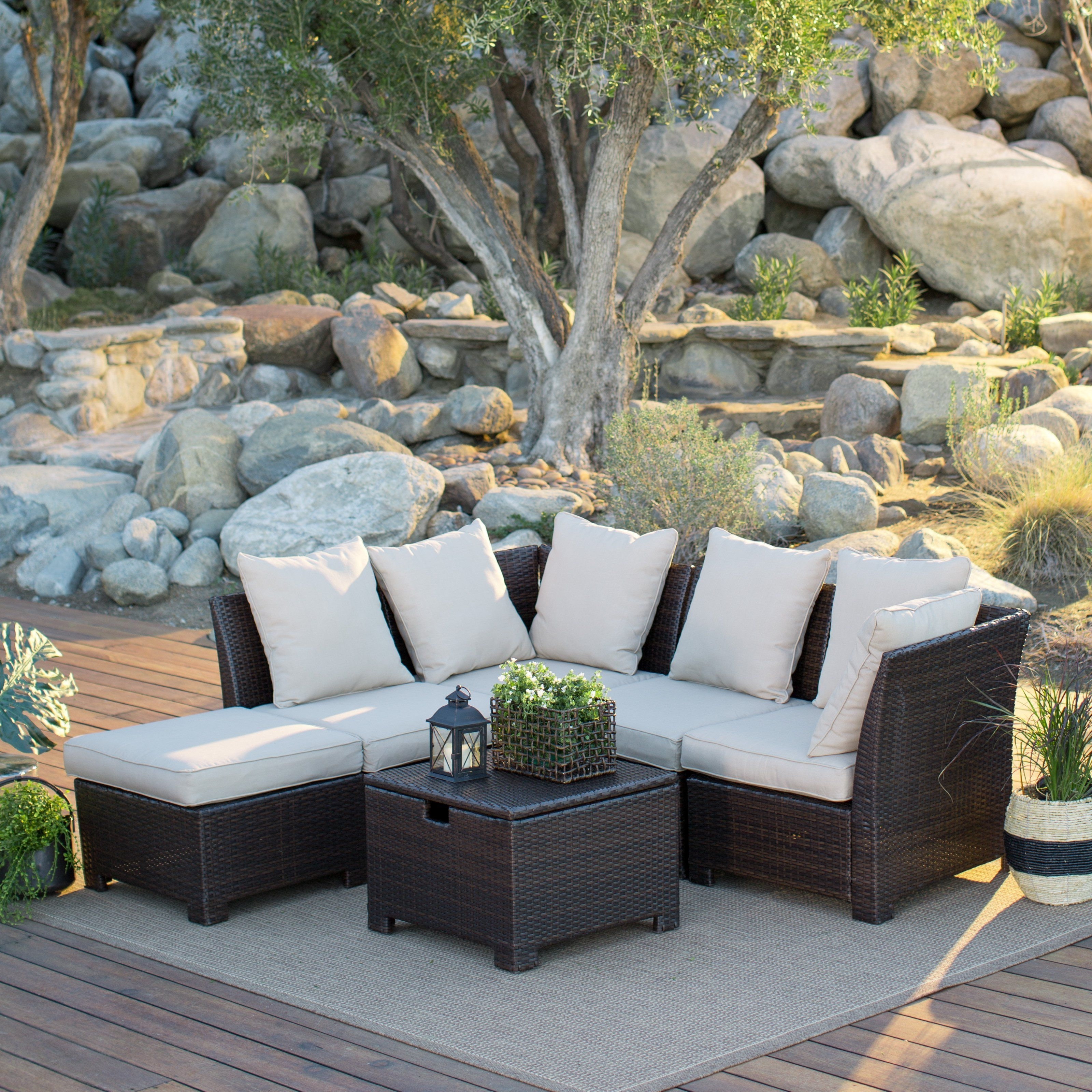 Hayneedle Patio Conversation Sets Intended For 2018 Have To Have It (View 7 of 20)