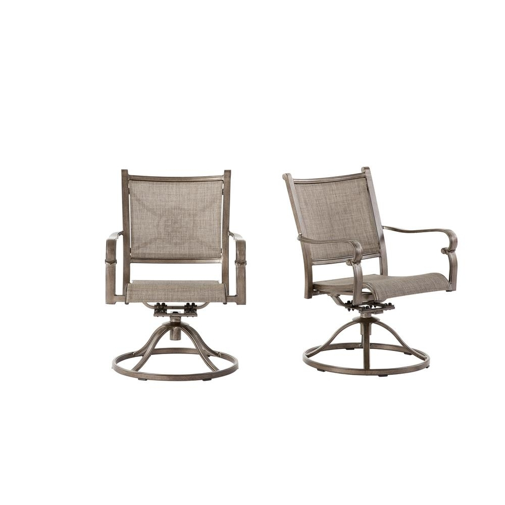 Home Decorators Collection Home Decorators Collection Wilshire In Trendy Aluminum Patio Rocking Chairs (View 6 of 20)