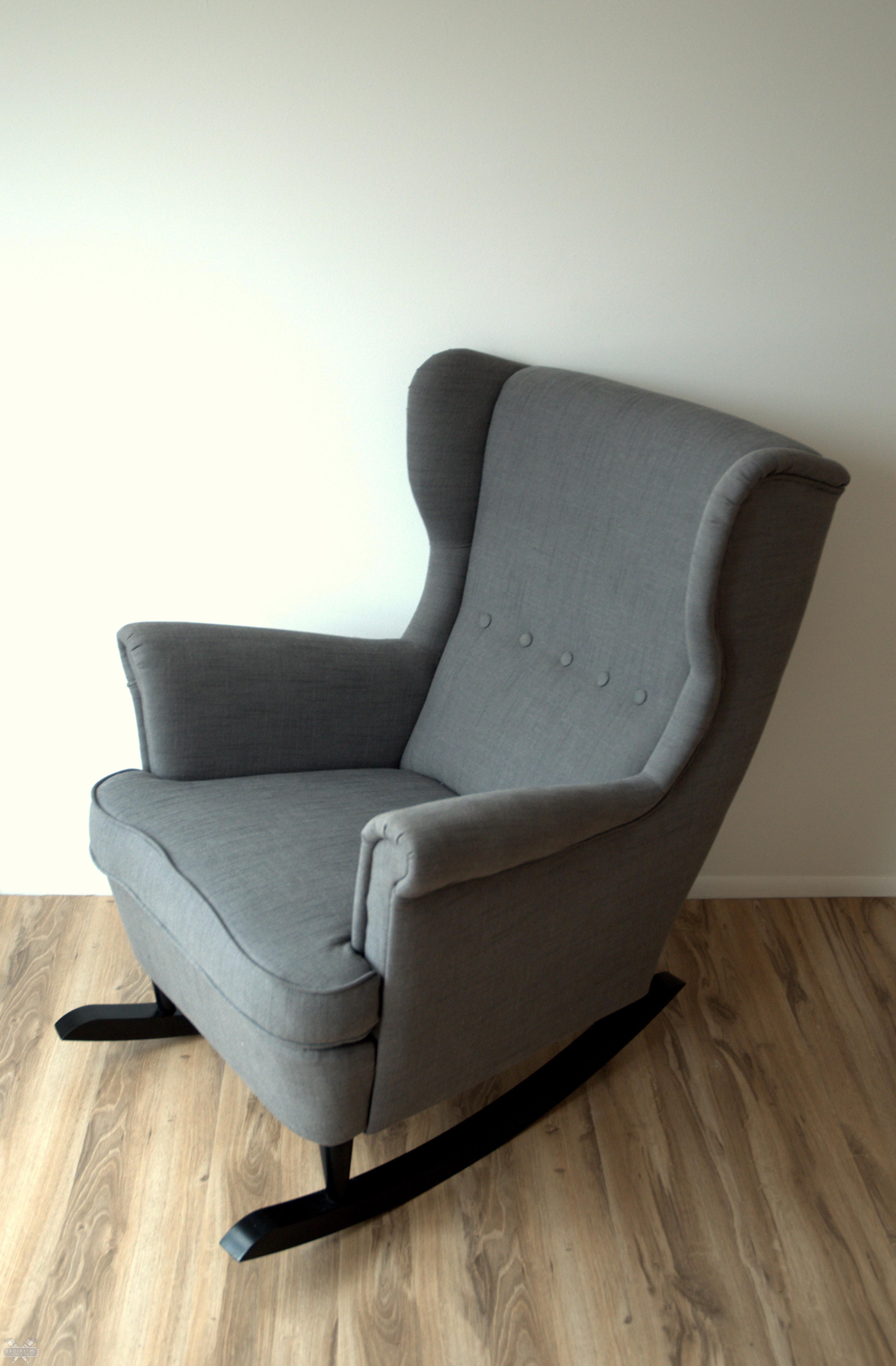Ikea Hack: Strandmon Rocker {diy Wingback Rocking Chair} (View 5 of 20)