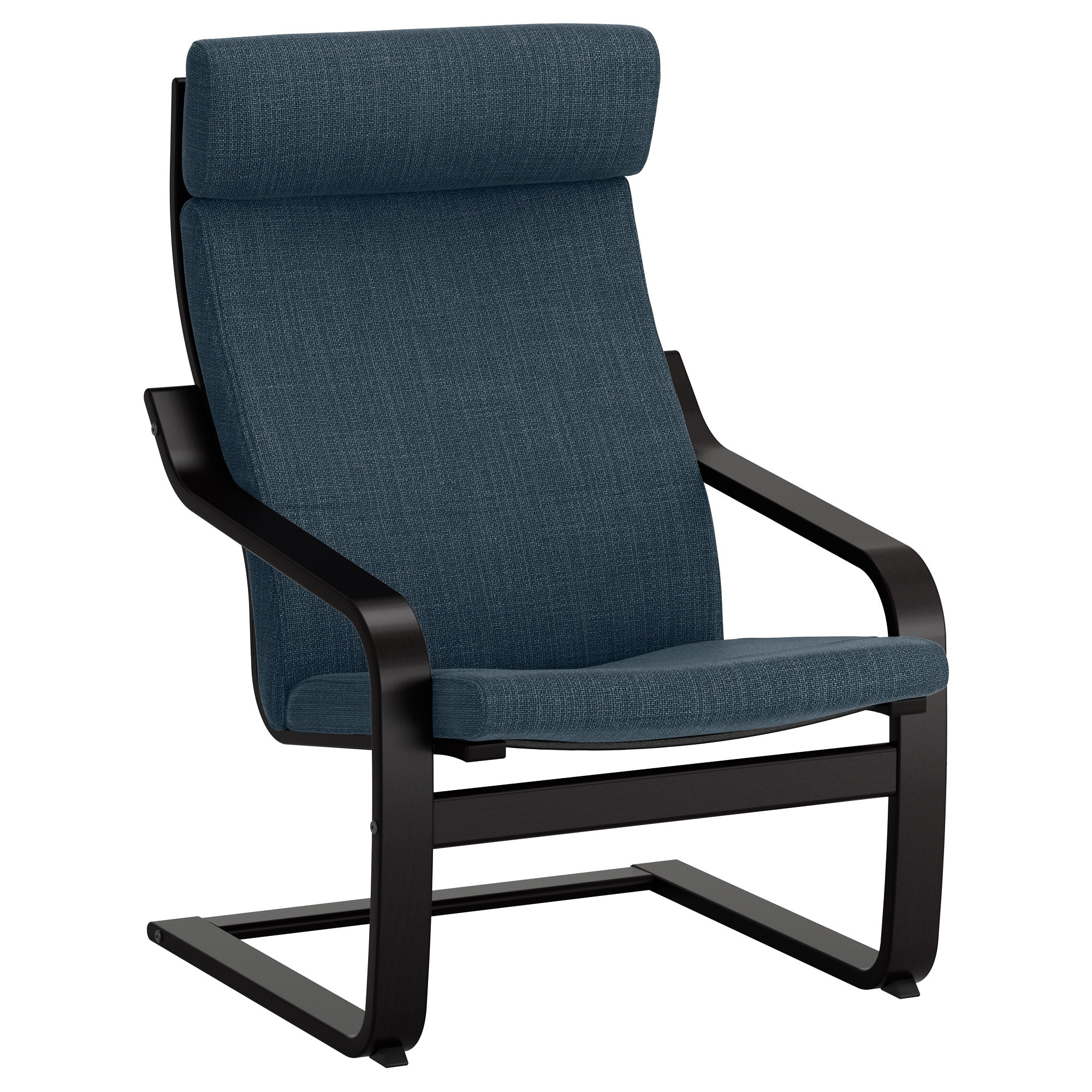 Ikea Rocking Chairs Throughout Widely Used Poäng Armchair – Hillared Anthracite – Ikea (View 11 of 20)