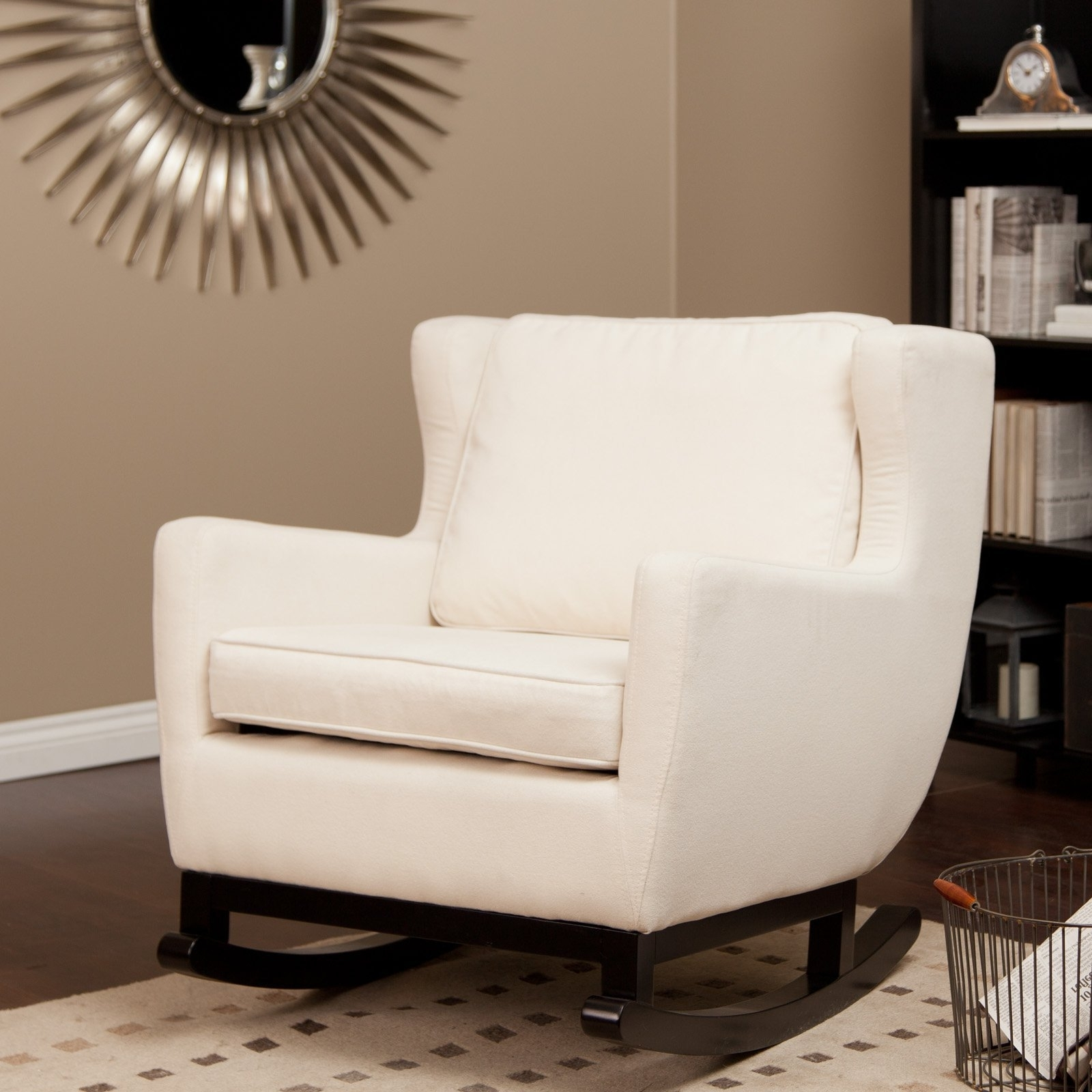 Invigorating Update A Nursery Gilder Rocking Chairdiy Mommy Inside Widely Used Upholstered Rocking Chairs (View 4 of 20)