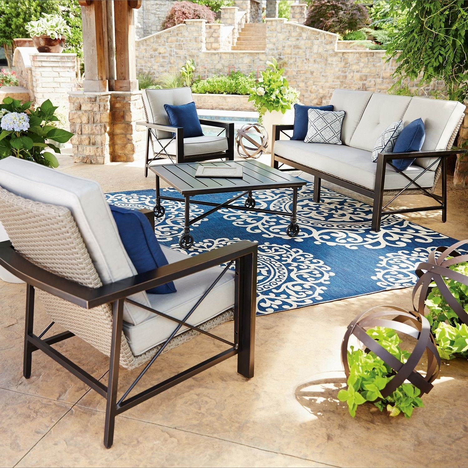 Katana, Backyard And Within Patio Conversation Sets At Sam's Club (View 5 of 20)