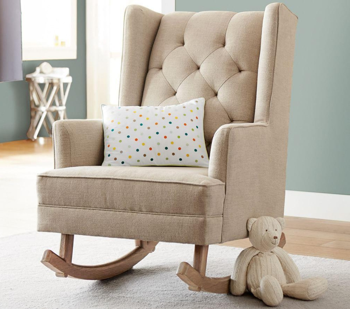 Kid Rocking Chair Indoor : New Kids Furniture – Kid Rocking Chair With Well Known Rocking Chairs For Baby Room (View 10 of 20)