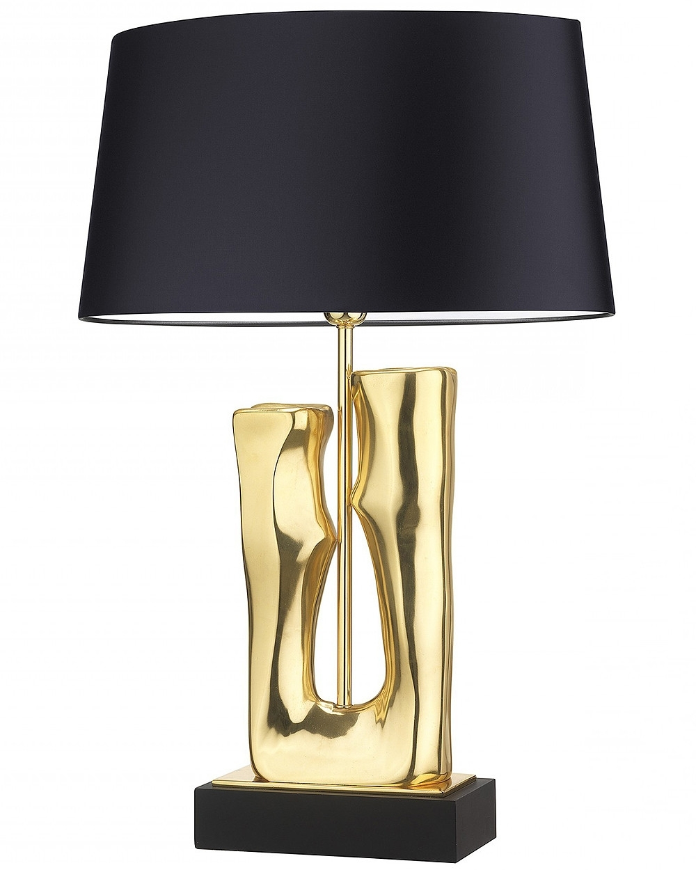 Featured Photo of Gold Living Room Table Lamps