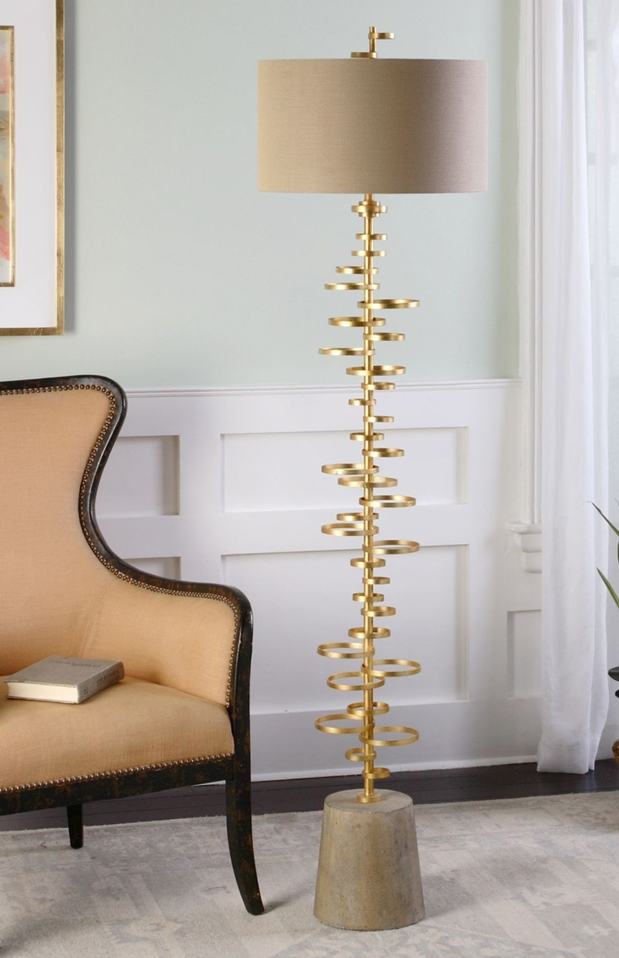 Lamp : Modernloor Lampsor Living Room Wayfair With Table Tray Gold Pertaining To Latest Wayfair Living Room Table Lamps (View 14 of 20)