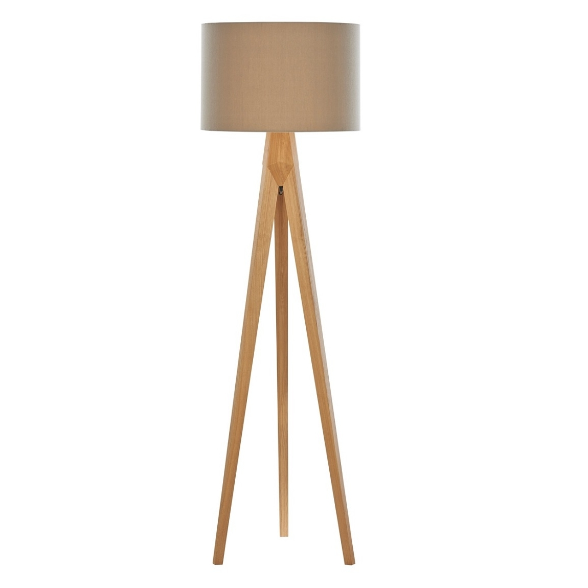 Latest Debenhams Home Collection 'hudson' Wooden Tripod Floor Lamp Living Throughout Debenhams Table Lamps For Living Room (View 9 of 20)