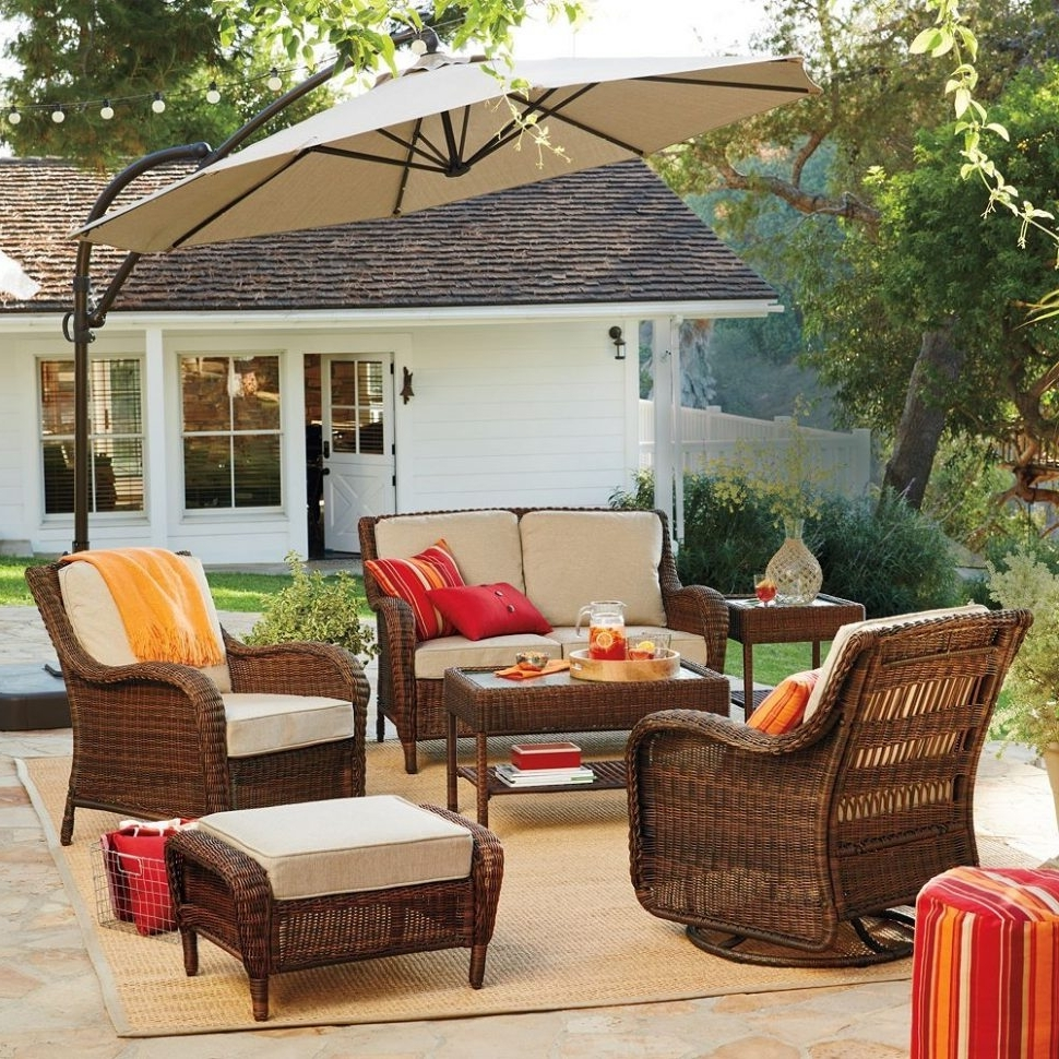 Latest Kohl's Patio Conversation Sets Throughout Sonoma Patio Furniture Goods For Lifeac2A2 Presidio Collection (View 11 of 20)