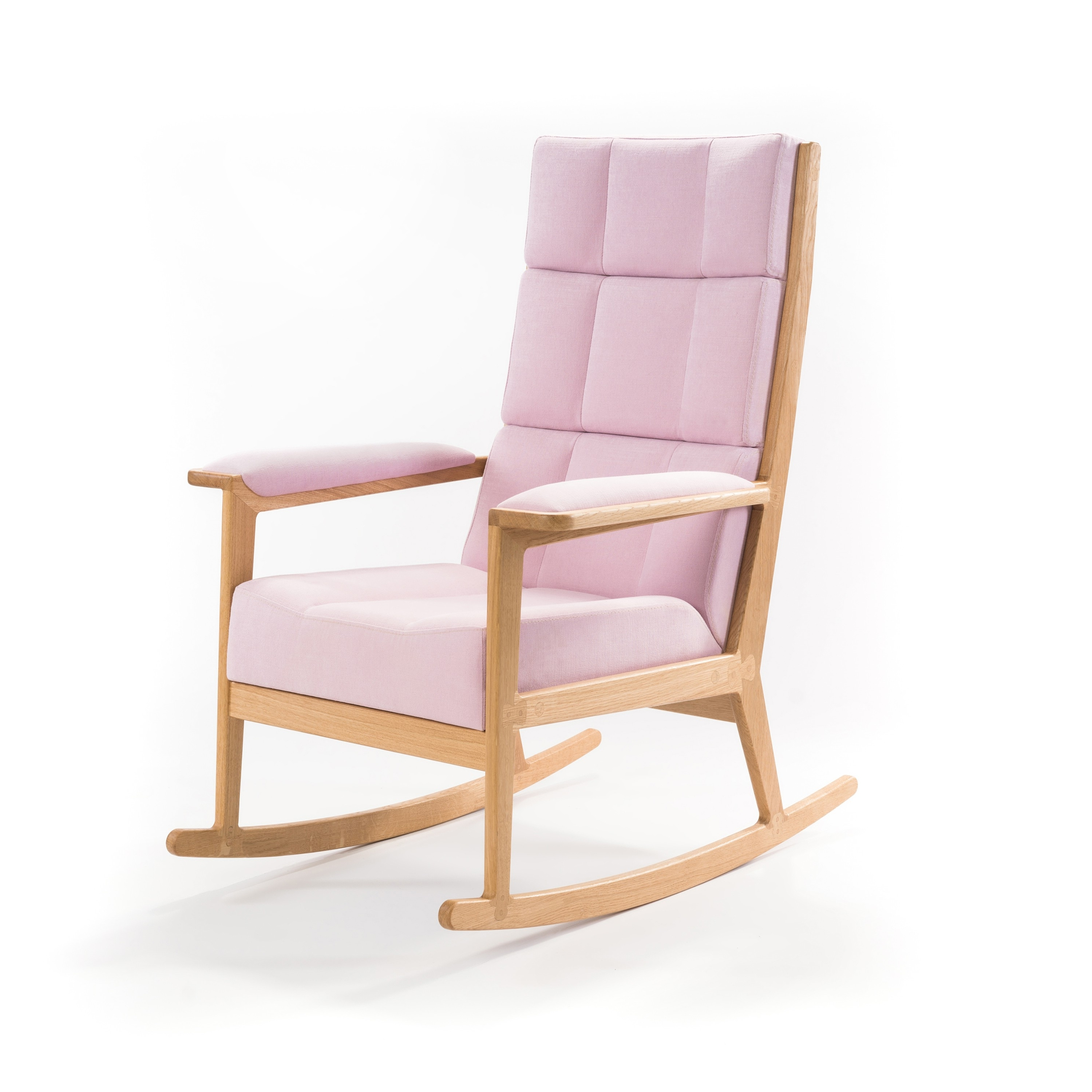 Latest Rocking Chairs At Roses Within Unbelievably Comfortable Rocking Chair In An Amazing Vintage Rose Color (View 6 of 20)