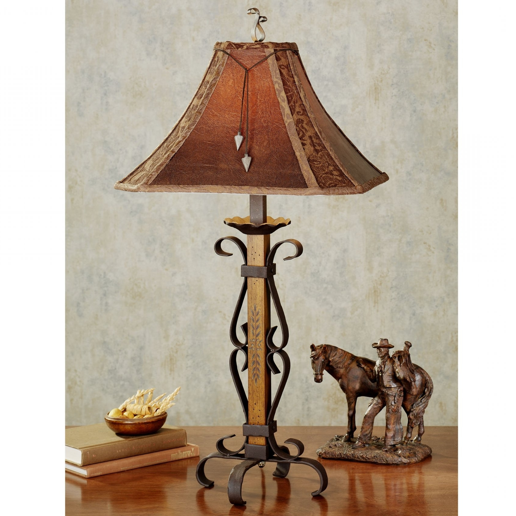 Featured Photo of Western Table Lamps For Living Room