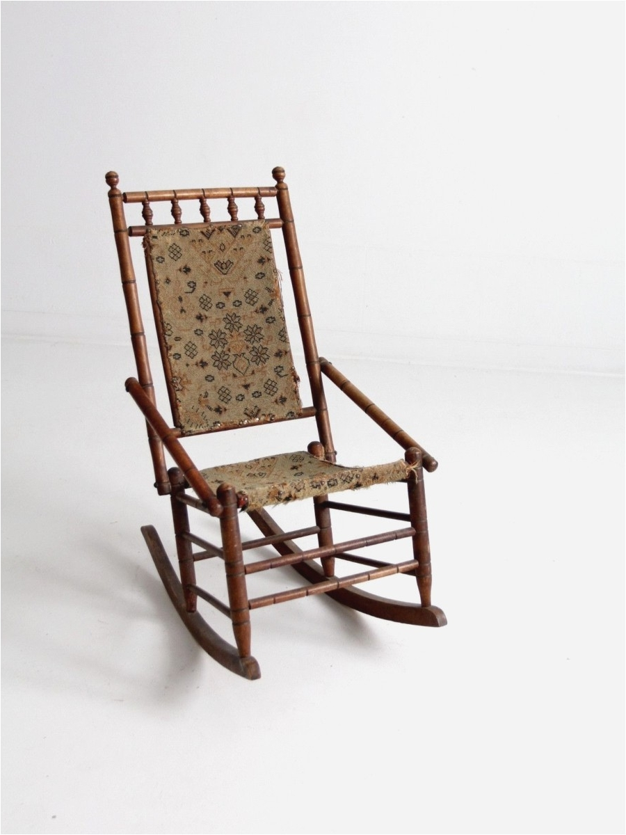 Latest Wicker Rocking Chair With Magazine Holder With Wicker Rocking Chairs. Image Is Loading Withcushion (View 12 of 20)