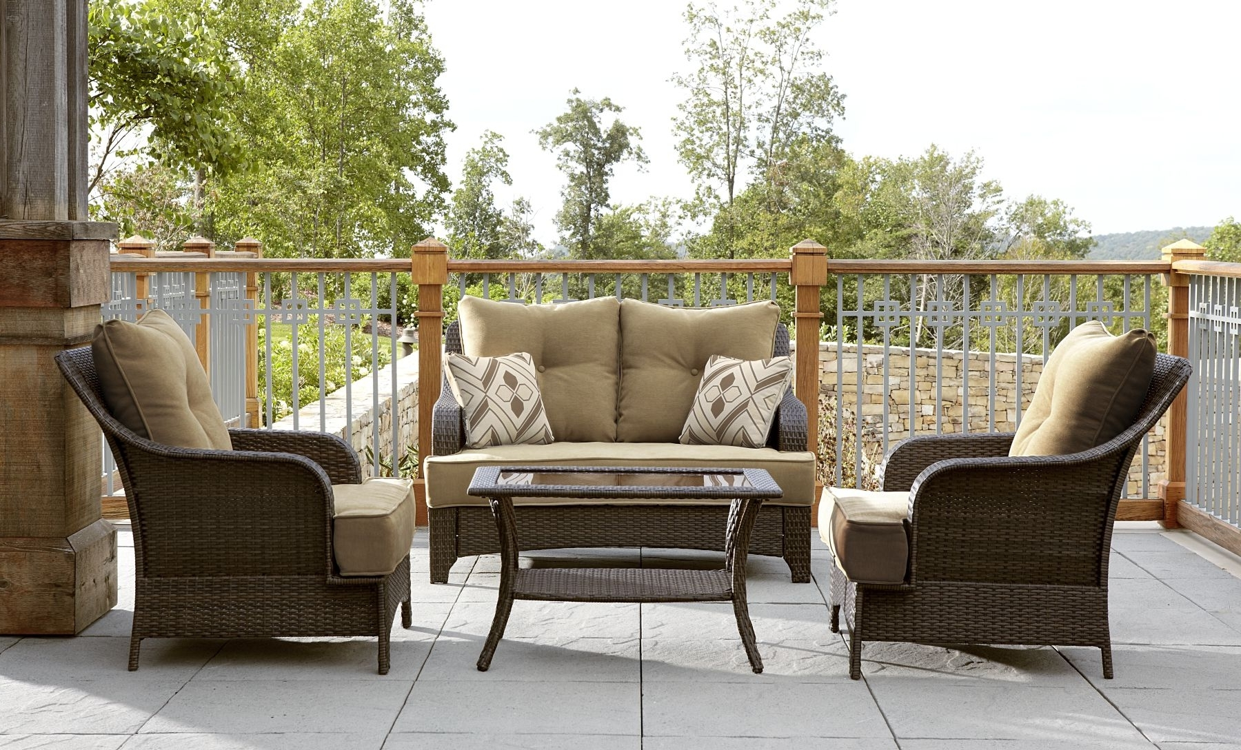 Lazy Boy Patio Conversation Sets Pertaining To 2019 Patio : Lazy Boy Patio Furniture Cushion Replacements Covers (View 9 of 20)