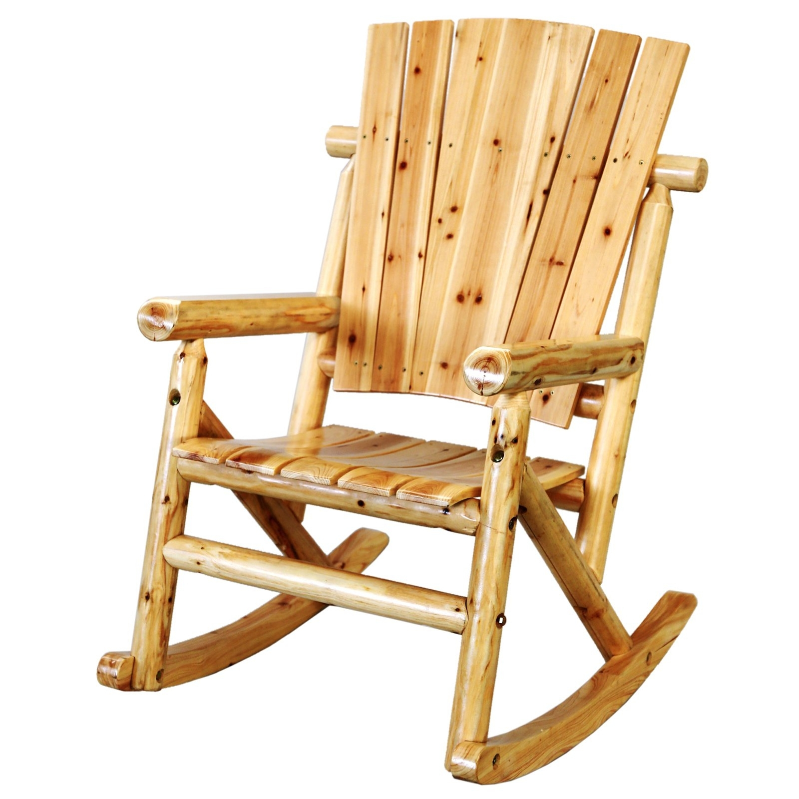 Leigh Country Char Log Single Rocker With Star (View 9 of 20)