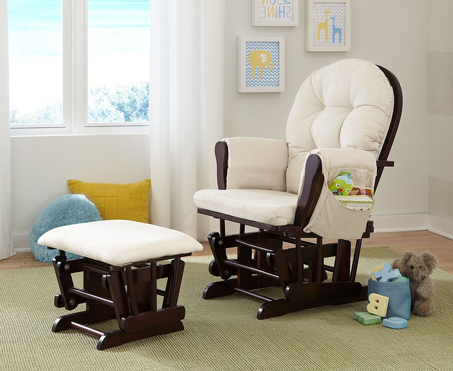 Living Room Furniture : Glider Rocking Chair Amazon Glider Rocking Regarding 2019 Amazon Rocking Chairs (View 20 of 20)