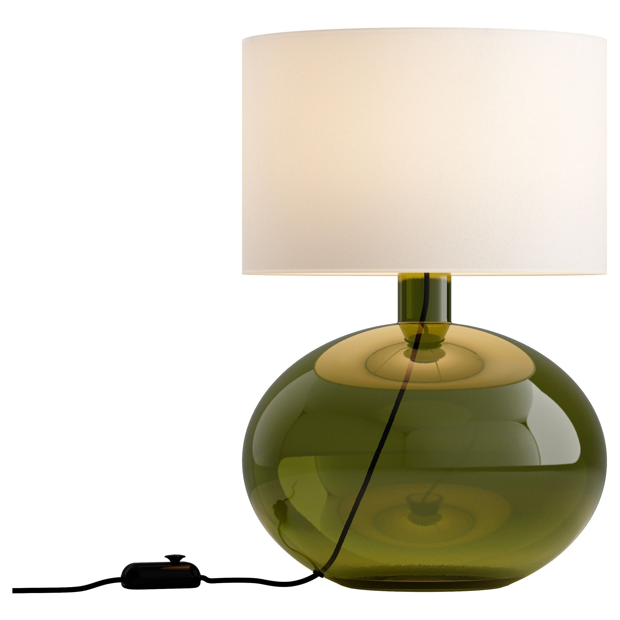 Living Room Table Lamps At Ikea In Well Known Ljusås Ysby Table Lamp – Green – Ikea (View 8 of 20)