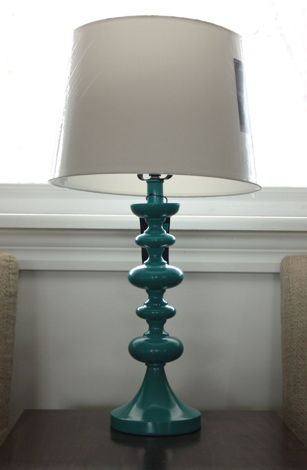 Living Room Table Lamps At Target Within Popular Target Table Lamp  Teal (View 10 of 20)