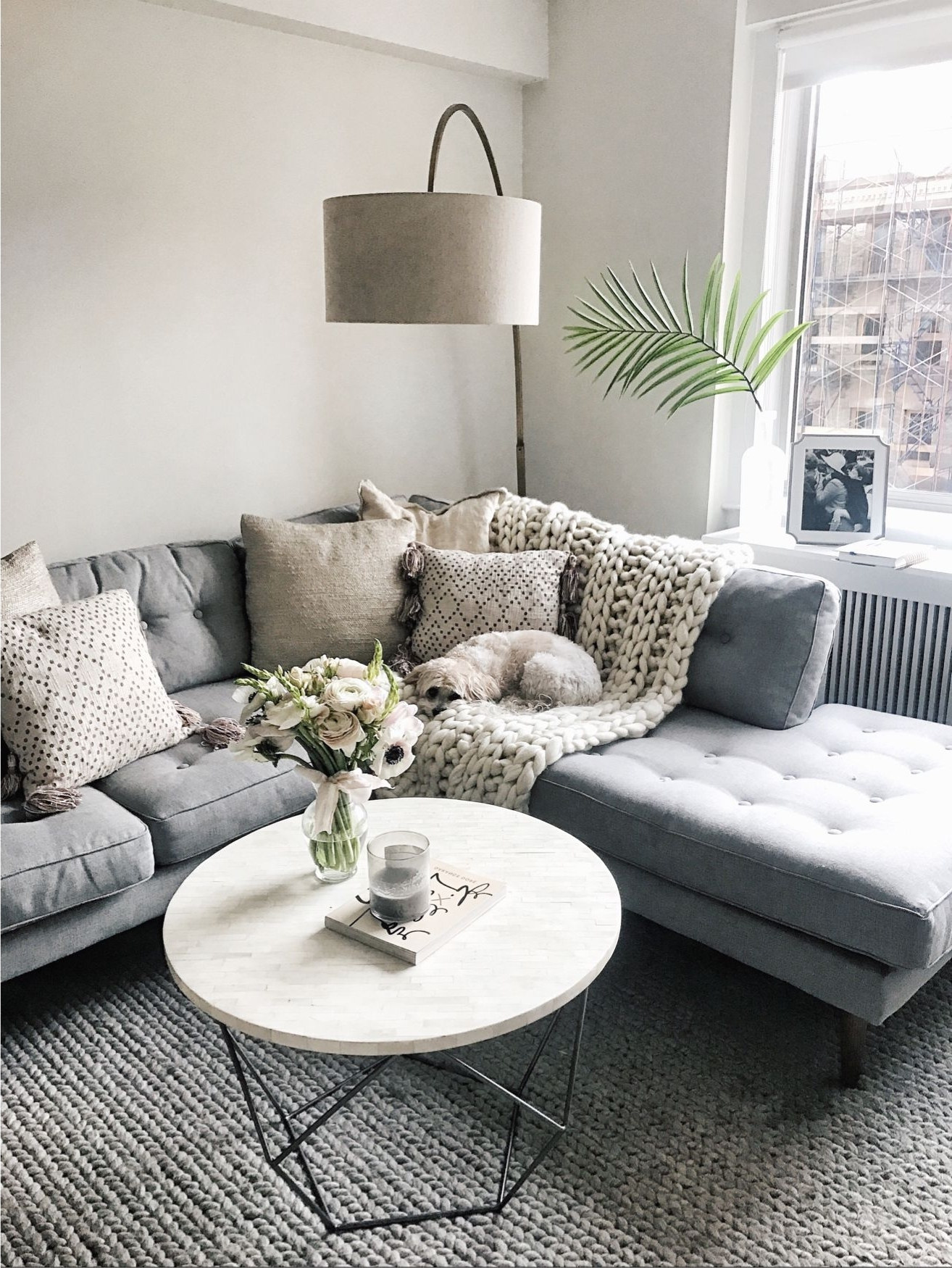 Love This West Elm Lamp/round Coffee Table) @liketoknow (View 15 of 20)