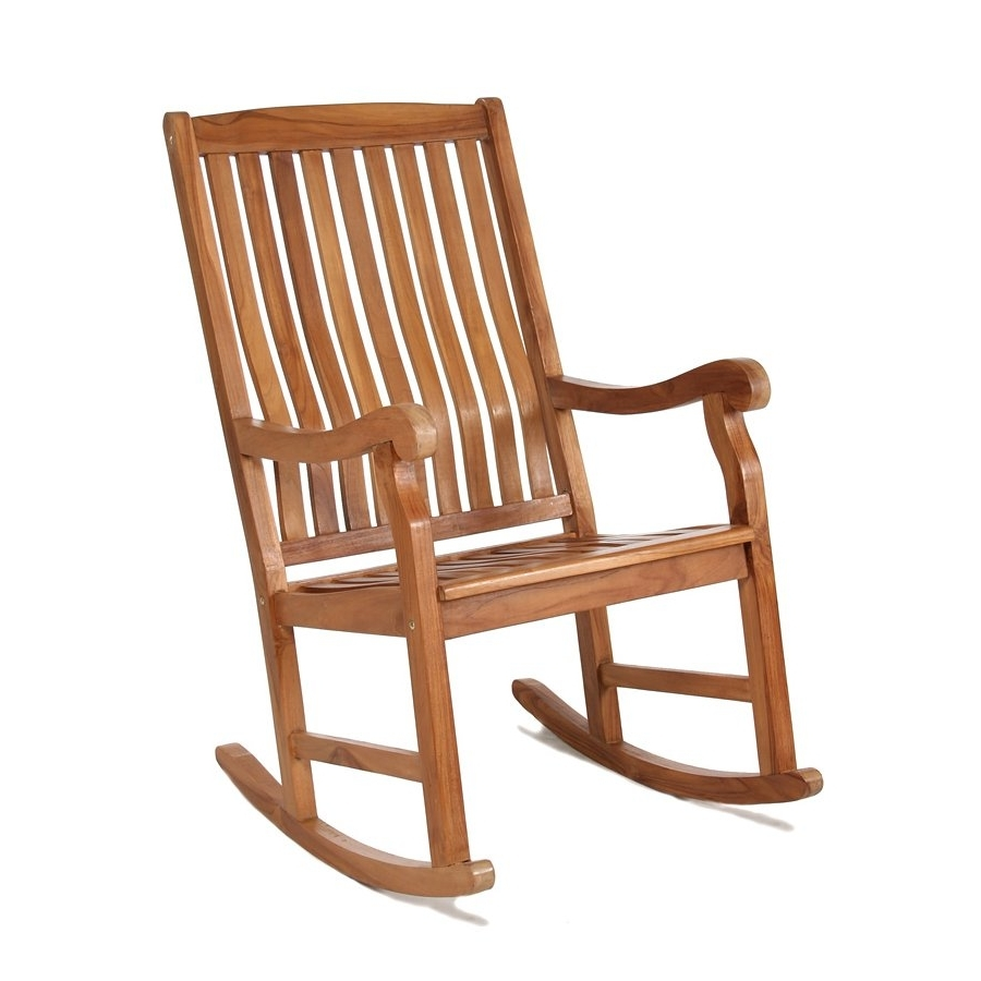 Lowe's Canada With Regard To Teak Patio Rocking Chairs (View 4 of 20)