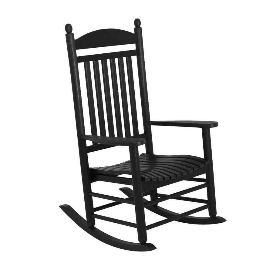 Lowes Rocking Chairs Pertaining To Well Known Sensational Idea Rocking Chairs Lowes Black Outdoor Chair Modern (View 10 of 20)