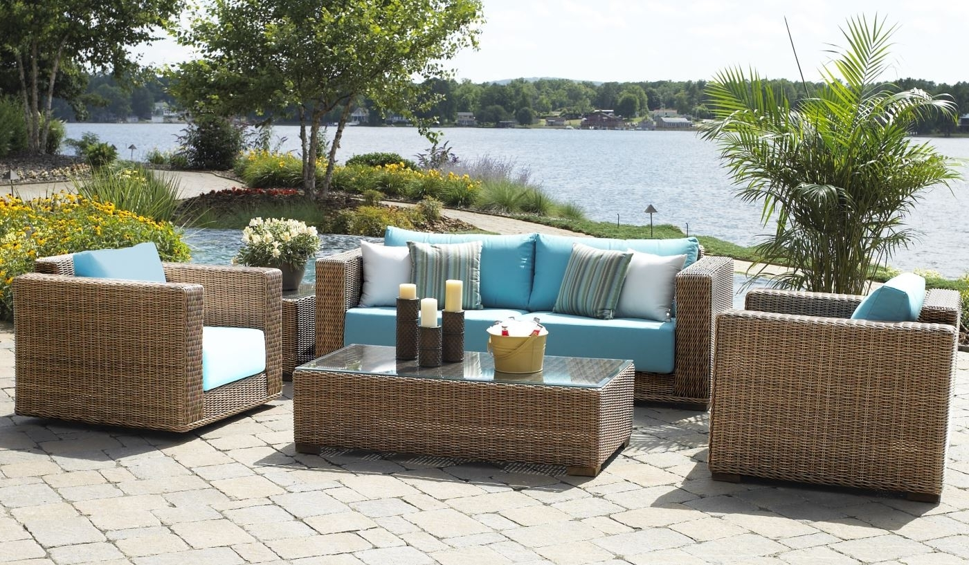 Luxury Wicker Patio Furniture : Sathoud Decors – Repaint Wicker Regarding Famous Nfm Patio Conversation Sets (View 17 of 20)