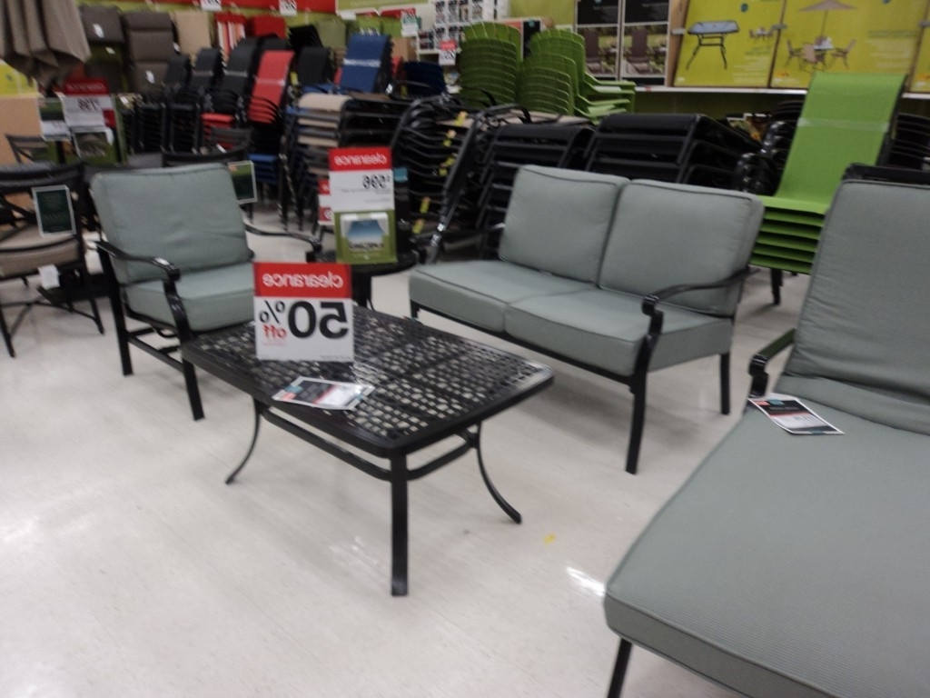 Featured Photo of Target Patio Furniture Conversation Sets