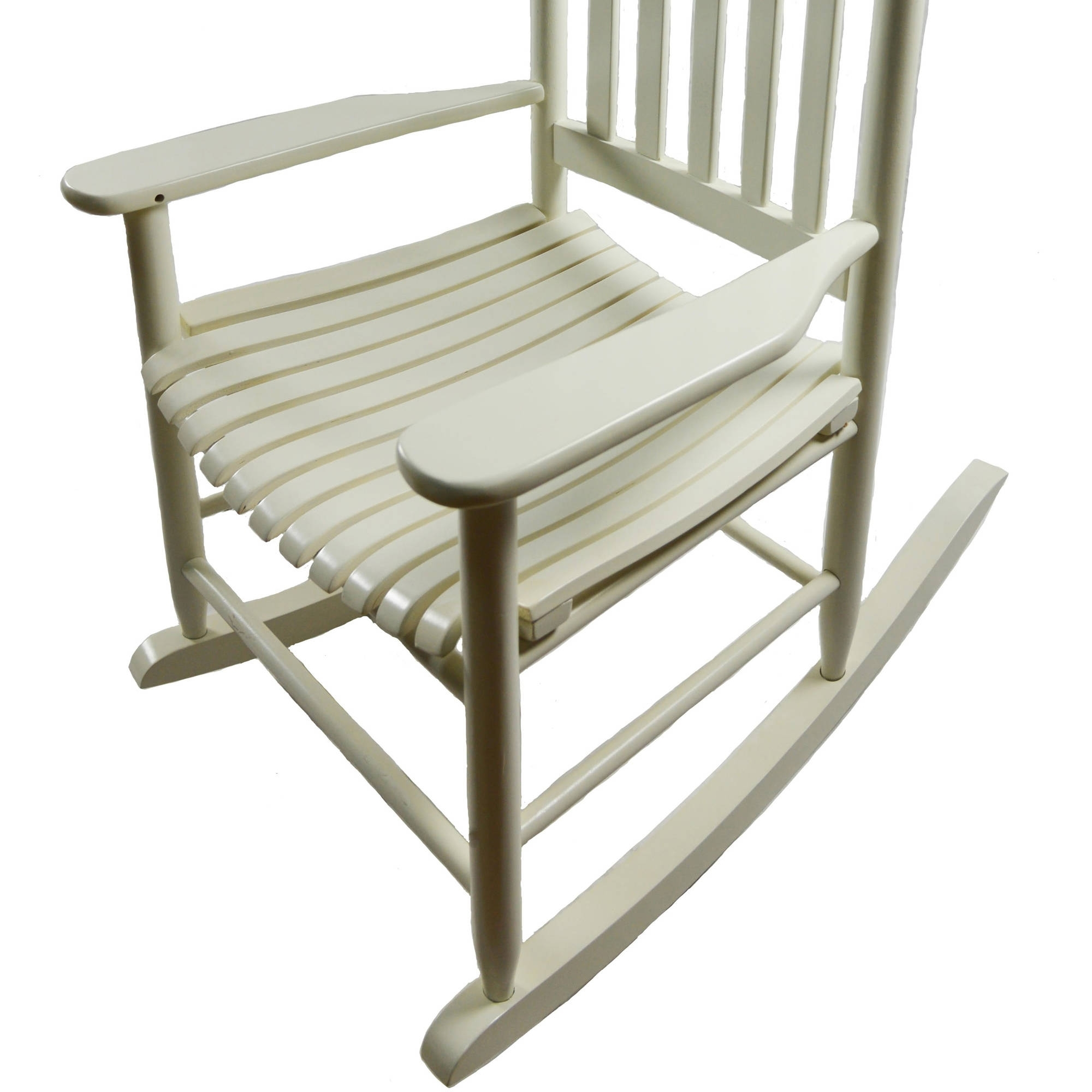 Mainstays Outdoor Wood Rocking Chair – Walmart Pertaining To Well Known Rocking Chairs At Walmart (View 12 of 20)