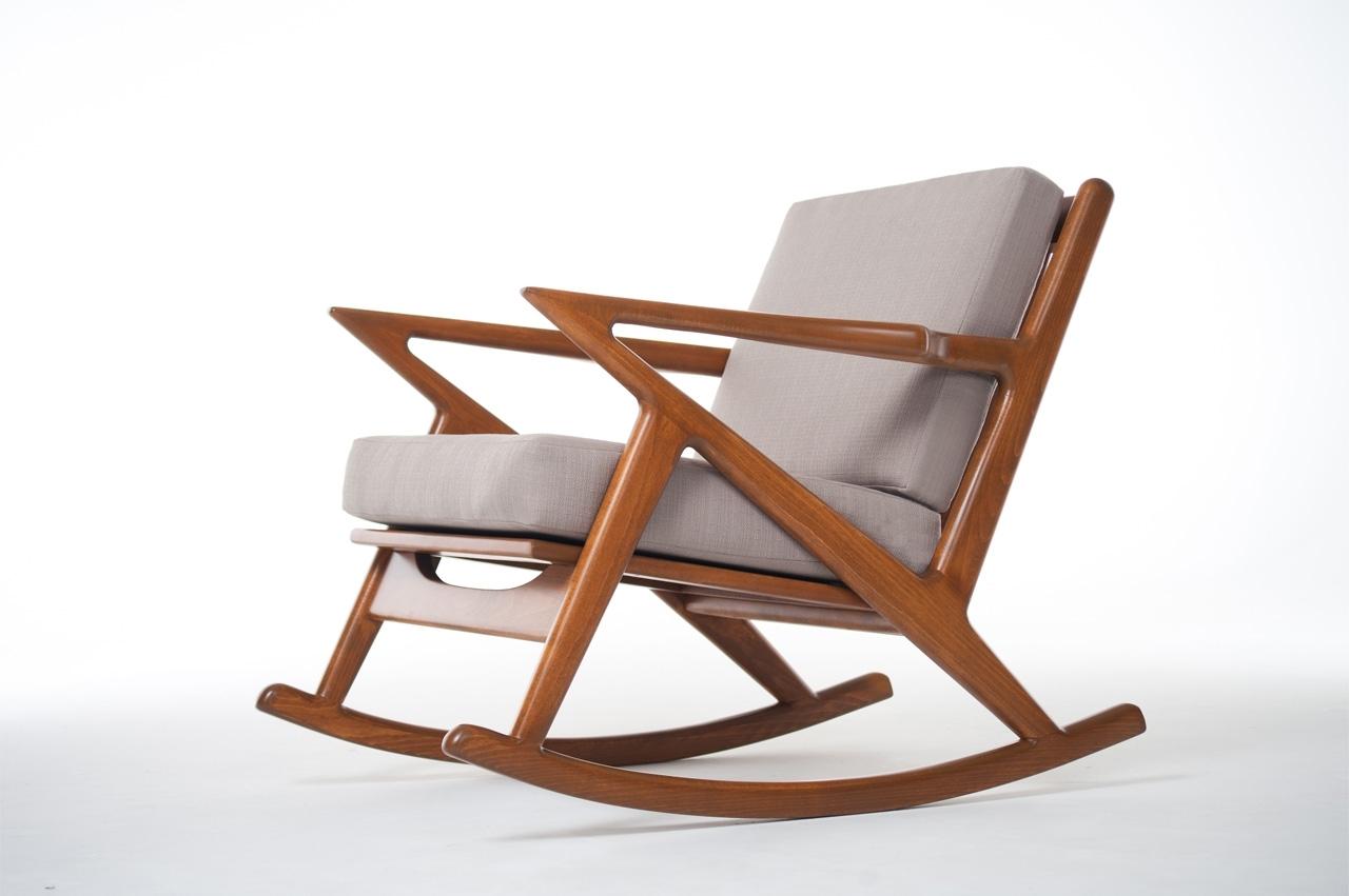 Manhattan Patio Grey Rocking Chairs Inside Trendy Plushemisphere Beautiful Mid Century Modern Rocking Chairs Dma Chair (View 6 of 20)