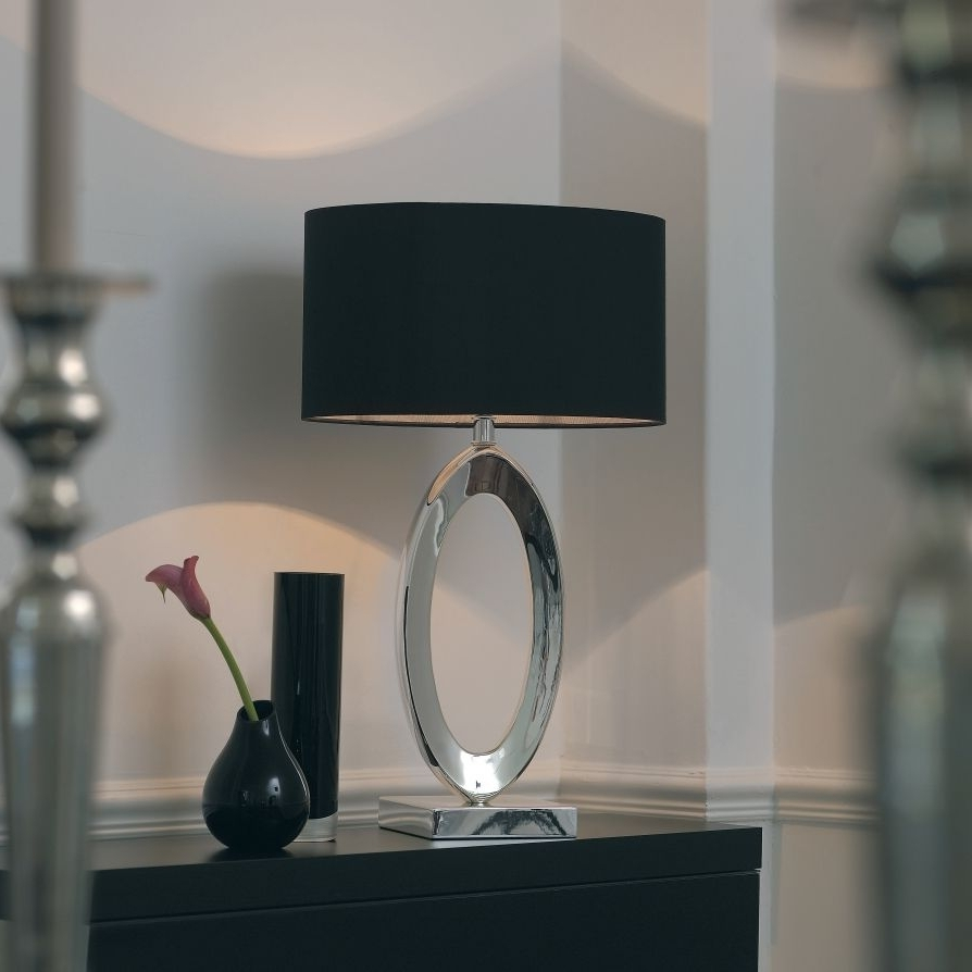 Modern Table Lamps For Living Room Throughout Well Known Beautiful Design Find More Inspirations: Www (View 2 of 20)