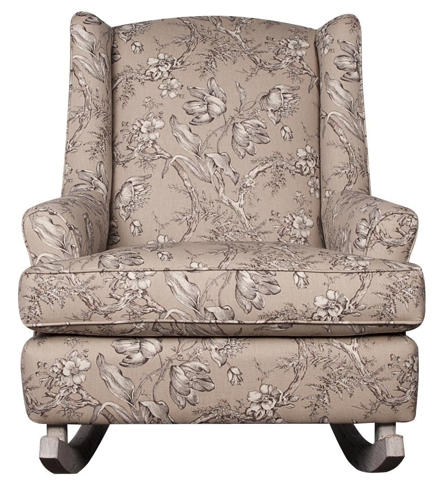 Morris Home Within Current Upholstered Rocking Chairs (View 7 of 20)
