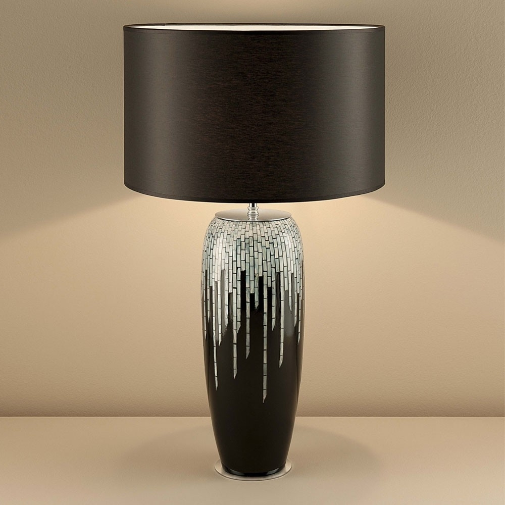 Most Current Black Living Room Table Lamps With Living Room Contemporary Table Lamps Living Room Design With (View 6 of 20)
