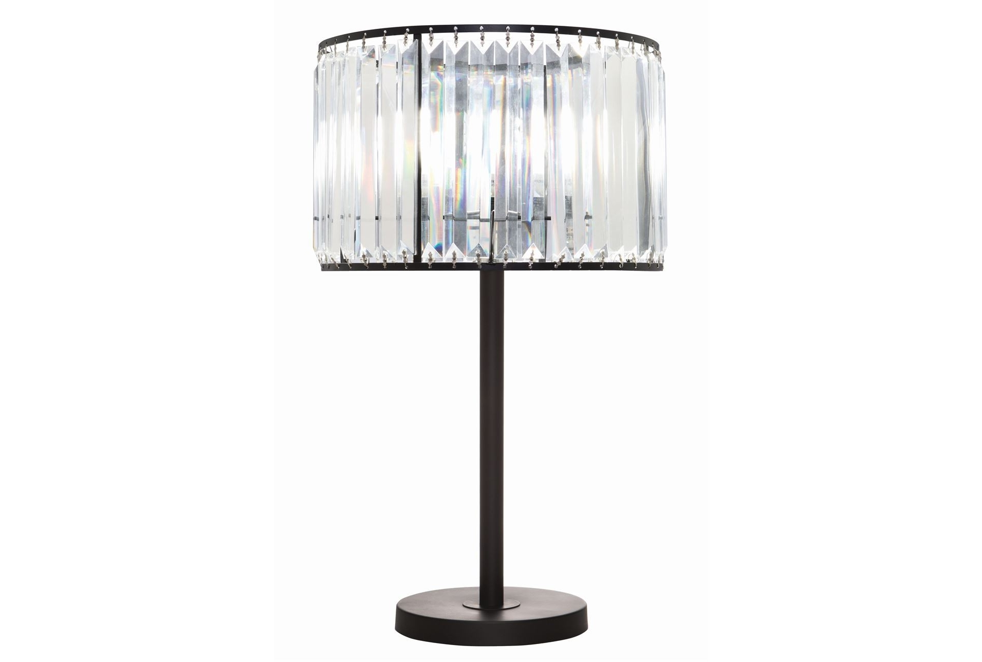Most Current Crystal Living Room Table Lamps Intended For Living Room : Crystal Table Lamps Small Table Lamps Crystal (View 8 of 20)