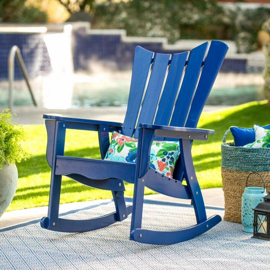 Most Current Outdoor Vinyl Rocking Chairs – Sudaak Throughout Outdoor Vinyl Rocking Chairs (View 16 of 20)