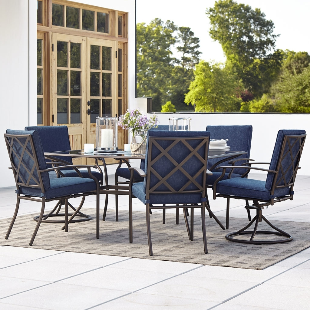 Most Current Rona Patio Rocking Chairs Regarding Outdoor Swivel Dining Chairs Elegant Patio Set With Swivel Chairs (View 5 of 20)