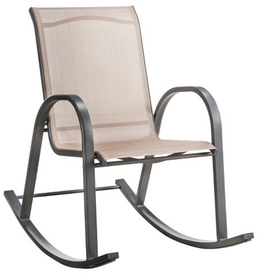 Most Current Stackable Patio Rocking Chairs In Livingroom : Shop Adams Mfg Corp Stackable Resin Rocking Chair At (View 8 of 20)