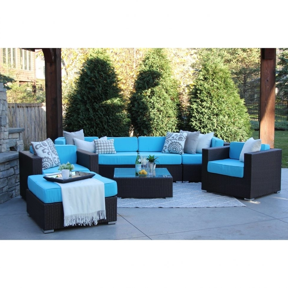 Most Popular Patio : Blue Hill Piece Patio Conversation Set Dining Sets White With Regard To Blue Patio Conversation Sets (View 15 of 20)