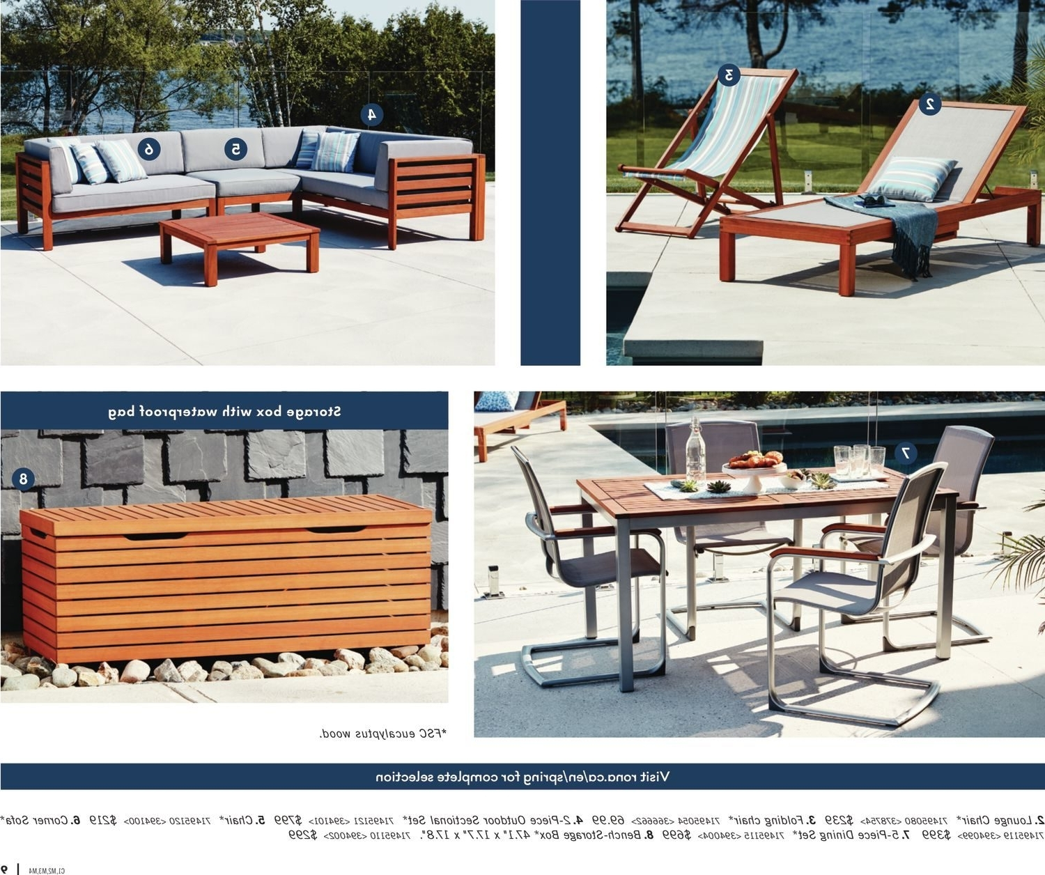 Most Popular Rona Weekly Flyer – Enjoy Your Backyard – Mar 22 – Apr 25 Pertaining To Rona Patio Rocking Chairs (View 6 of 20)