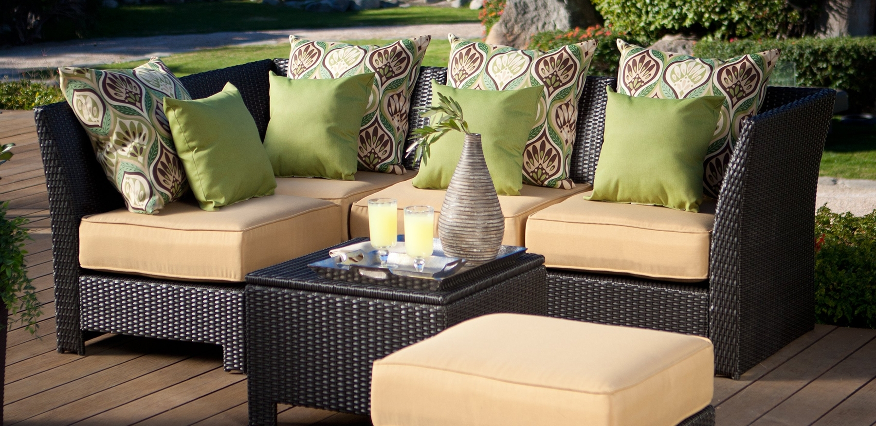 Most Popular Stylish Weaves – Kansas City Homes & Style Inside Nfm Patio Conversation Sets (View 9 of 20)