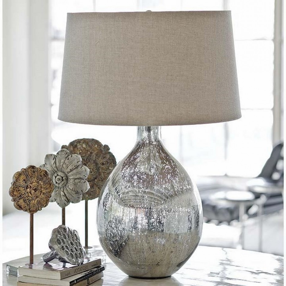 Featured Photo of Living Room End Table Lamps