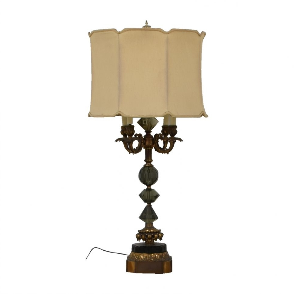 Most Recent Costco Living Room Table Lamps Regarding Furniture : Vintage Crystal Table Lamps For Antique Ebay Ball Living (View 16 of 20)