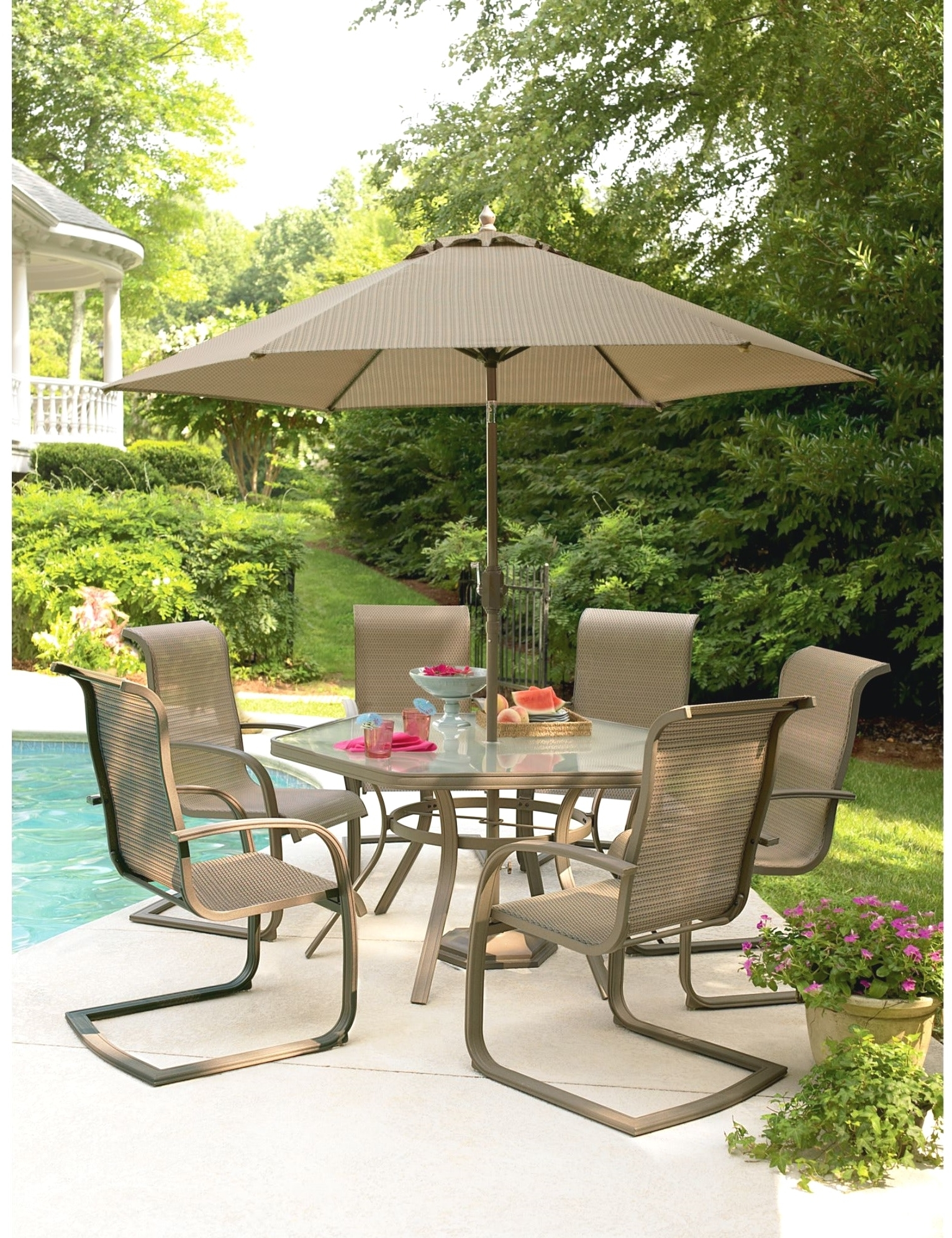 Most Recent Kmart Conversation Sets Patio Patios Umbrellas Fornspiring Outdoor Throughout Martha Stewart Conversation Patio Sets (View 10 of 20)