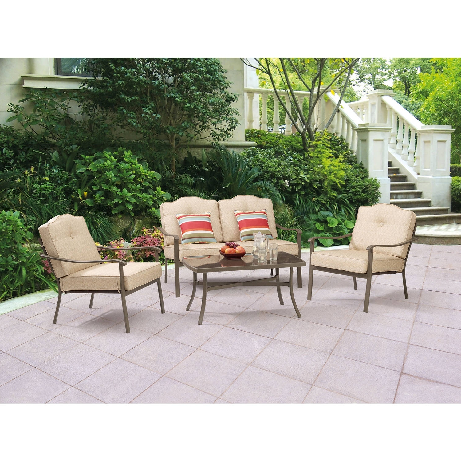 Featured Photo of Patio Conversation Sets At Walmart
