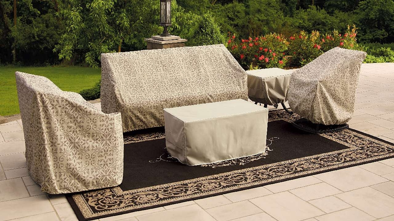 Most Recent Patio Conversation Sets With Covers Intended For Covers For Outdoor Patio Furniture (View 12 of 20)