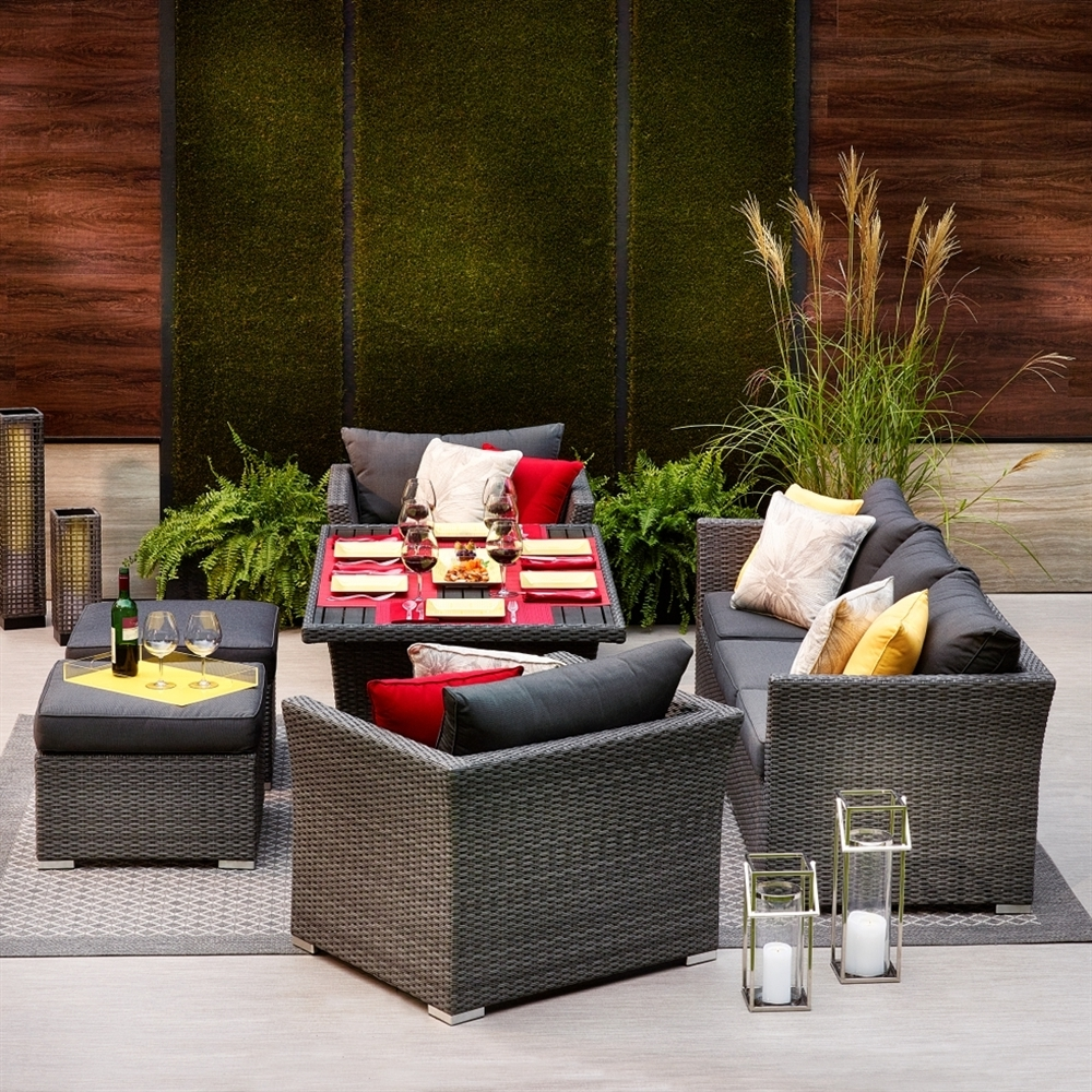 Most Recent Patio Furniture Sets Clearance Sale Costco Resin Wicker Outdoor Within Target Patio Furniture Conversation Sets (View 7 of 20)